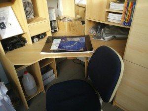 Kleiner Arbeitstisch